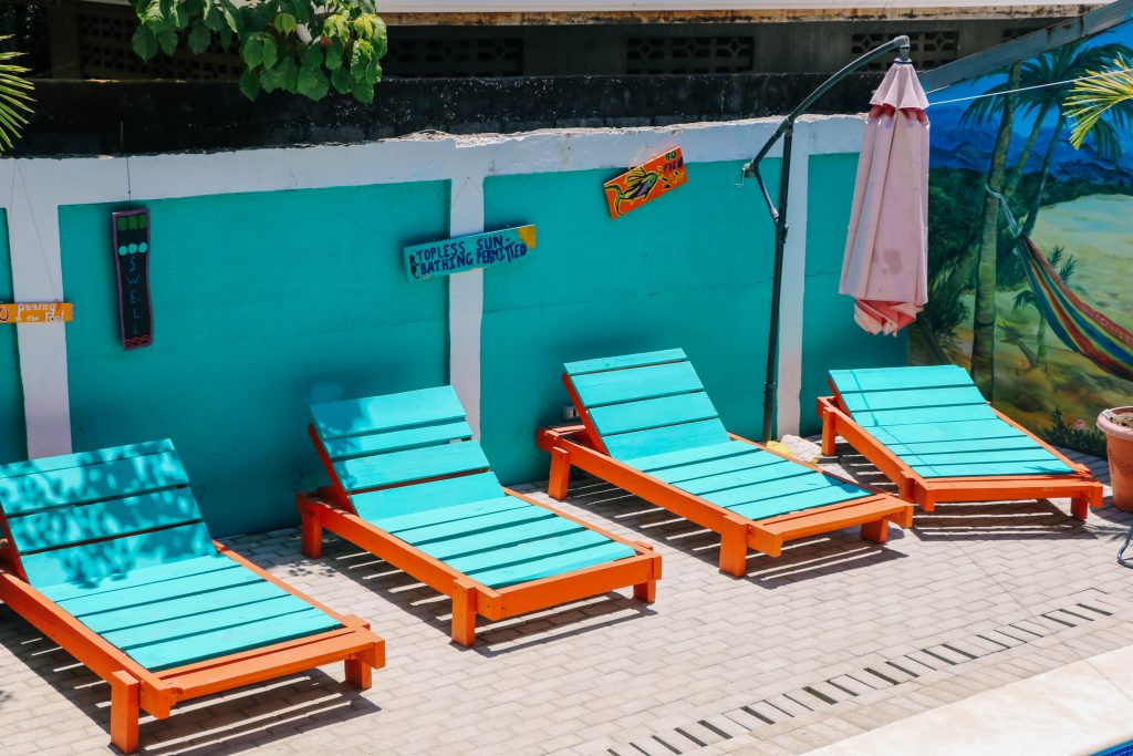 Pool Chairs by the Pool